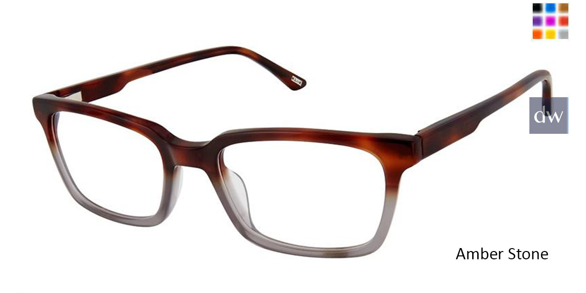 Kliik Denmark 644 Men Prescription Eyeglasses Daniel
