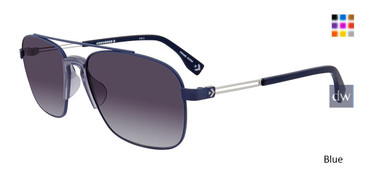 Blue Converse E017 Sunglasses.