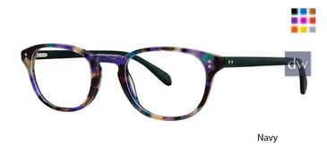 Navy Deja Vu 9020 Eyeglasses