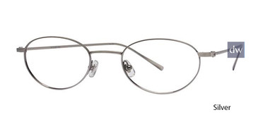 Silver Deja Vu D03 Eyeglasses