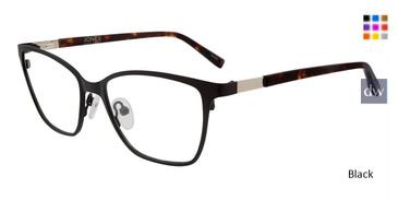 Black Jones New York Petite J149 Eyeglasses - Teenager.