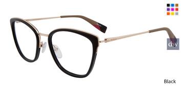 Black Furla VFU 253 Eyeglasses.