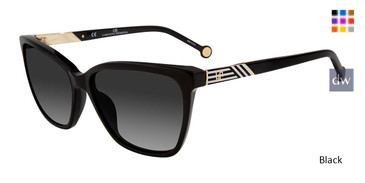 Black Calorina Herrera SHE796 Sunglasses.