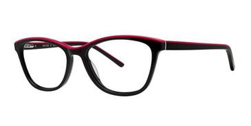 Black/Pink Romeo Gigli 77035 Eyeglasses.