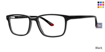 Black K12 4109 Eyeglasses - Teenager