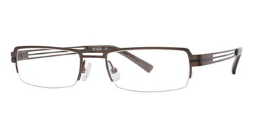 Bronze Wired 6005 Eyeglasses.