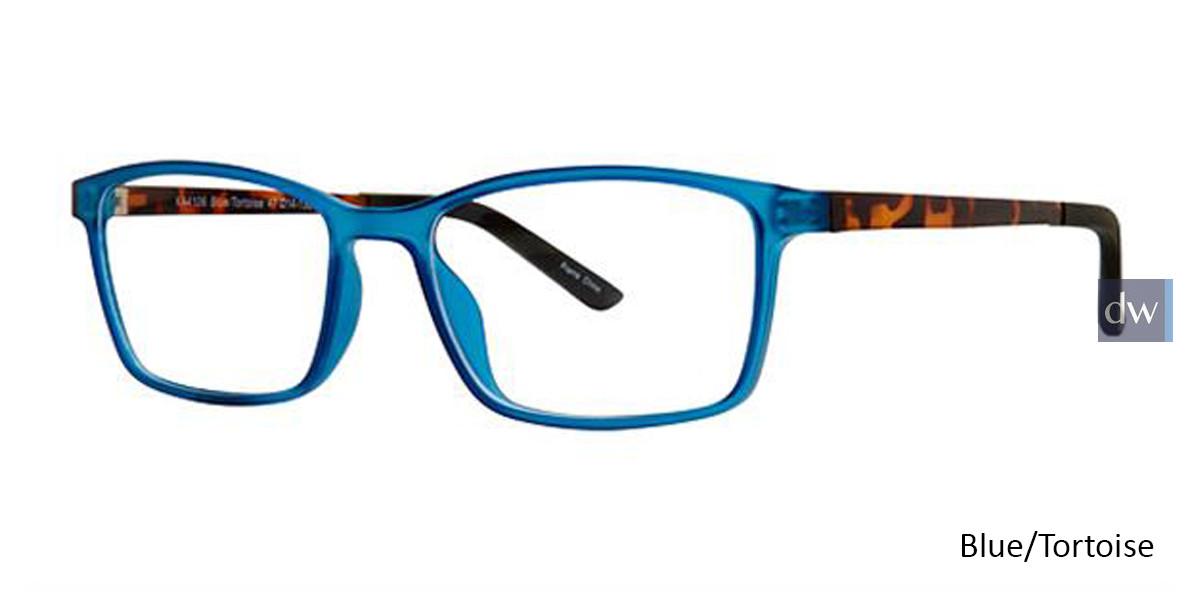 Blue/Tortoise K12 4106 Eyeglasses