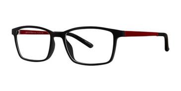 Black/Red K12 4106 Eyeglasses