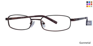 Gunmetal K12 4048 Eyeglasses - Teenager