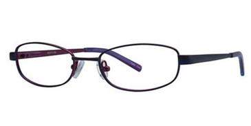 Brown/Blue K12 4047 Eyeglasses - Teenager