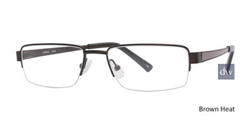 Brown Heat Wired 6008 Eyeglasses