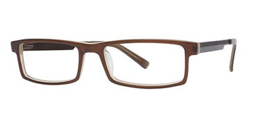 Brown Petrol Wired 6010 Eyeglasses.