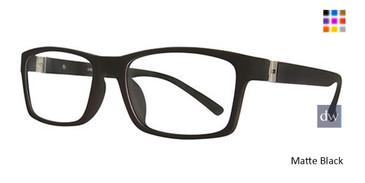 Matte Black Wired 6057 Eyeglasses.