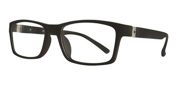Matte Black Wired 6057 Eyeglasses.