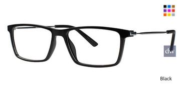 Black Wired 6058 Eyeglasses.