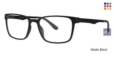 Matte Black Wired 6059 Eyeglasses.