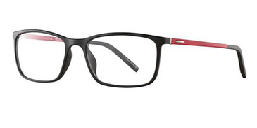 Black/Red Wired 6060 Eyeglasses.