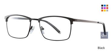 Black Wired 6063 Eyeglasses.