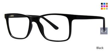 Black Wired 6065 Eyeglasses.