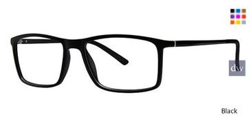 Black Wired 6066 Eyeglasses.
