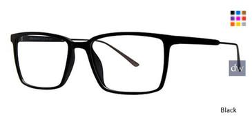 Black Wired 6068 Eyeglasses.