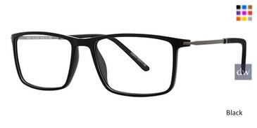 Black Wired 6070 Eyeglasses.