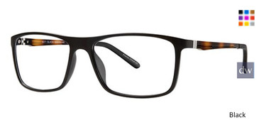 Black Wired 6071 Eyeglasses.