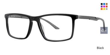 Black Wired 6072 Eyeglasses.