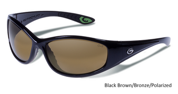 GARGOYLES SHAKEDOWN SUNGLASSES W/ 2 Special Curved Lenses Polarized