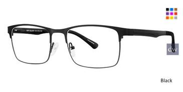 Black Wired 6074 Eyeglasses.