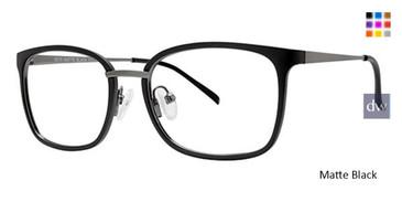 Matte Black Wired 6075 Eyeglasses.