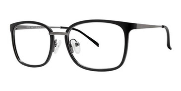 Matte Black Wired 6075 Eyeglasses.
