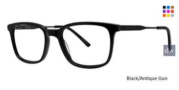 Black/Antique Gun Wired 6076 Eyeglasses.