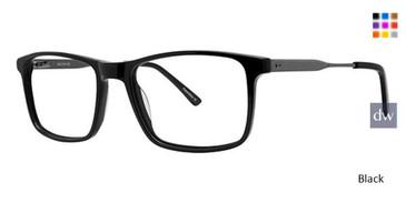 Black Wired 6077 Eyeglasses.