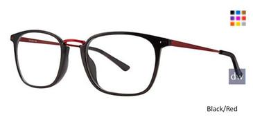 Black/Red Wired 6081 Eyeglasses.