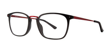 Black/Red Wired 6081 Eyeglasses.