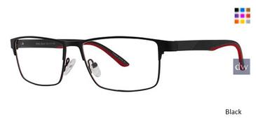 Black Wired 6082 Eyeglasses.