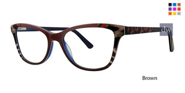 Brown Vavoom 8093 Eyeglasses