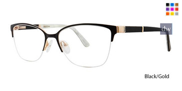 Black/Gold Vavoom 8094 Eyeglasses