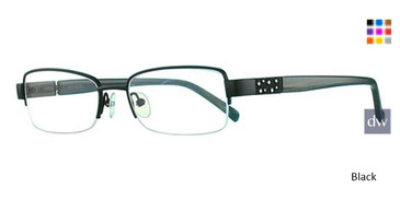 Black Avalon 5010 Eyeglasses.