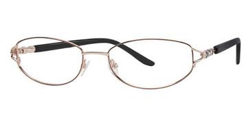 Bordeaux/Gold Avalon 5019 Eyeglasses.
