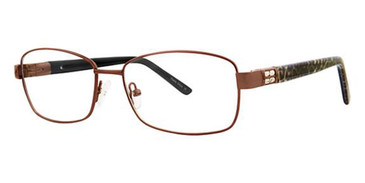 Brown/Leopard Avalon 5052 Eyeglasses.