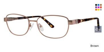 Brown Avalon 5054 Eyeglasses.