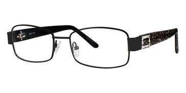 Black/Leopard Avalon 5057 Eyeglasses.