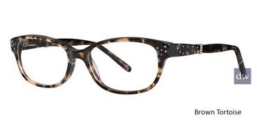 Brown Tortoise Avalon 5058 Eyeglasses.