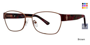 Brown Avalon 5062 Eyeglasses.