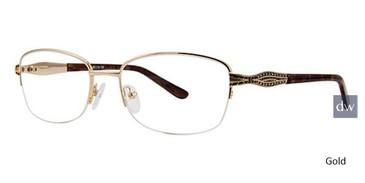 Gold Avalon 5070 Eyeglasses.