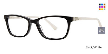 Black/White Avalon 5071 Eyeglasses.