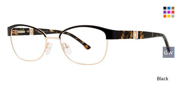 Black Avalon 5074 Eyeglasses.