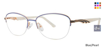 Blue/Pearl Avalon 5077 Eyeglasses.